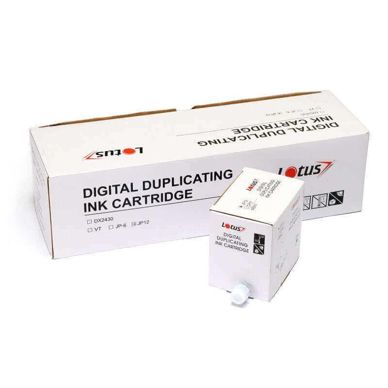 Cartucho de Tinta Preto para Duplicador Digital DX3340 600ML