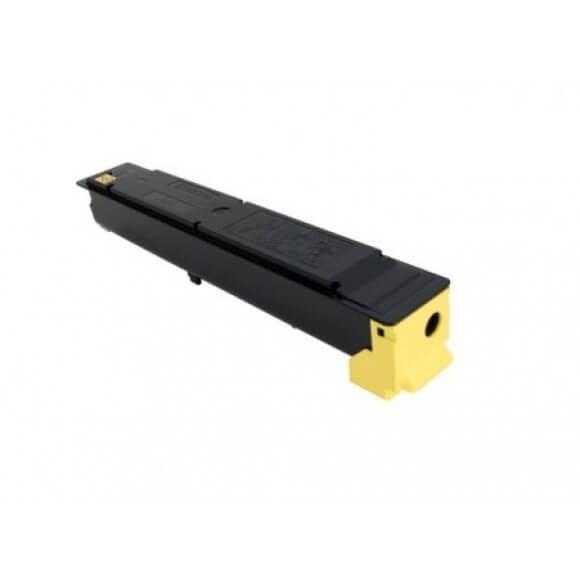 Toner Compatível Zeus TK5207 Amarelo p/ Kyocera c/chip - 12k