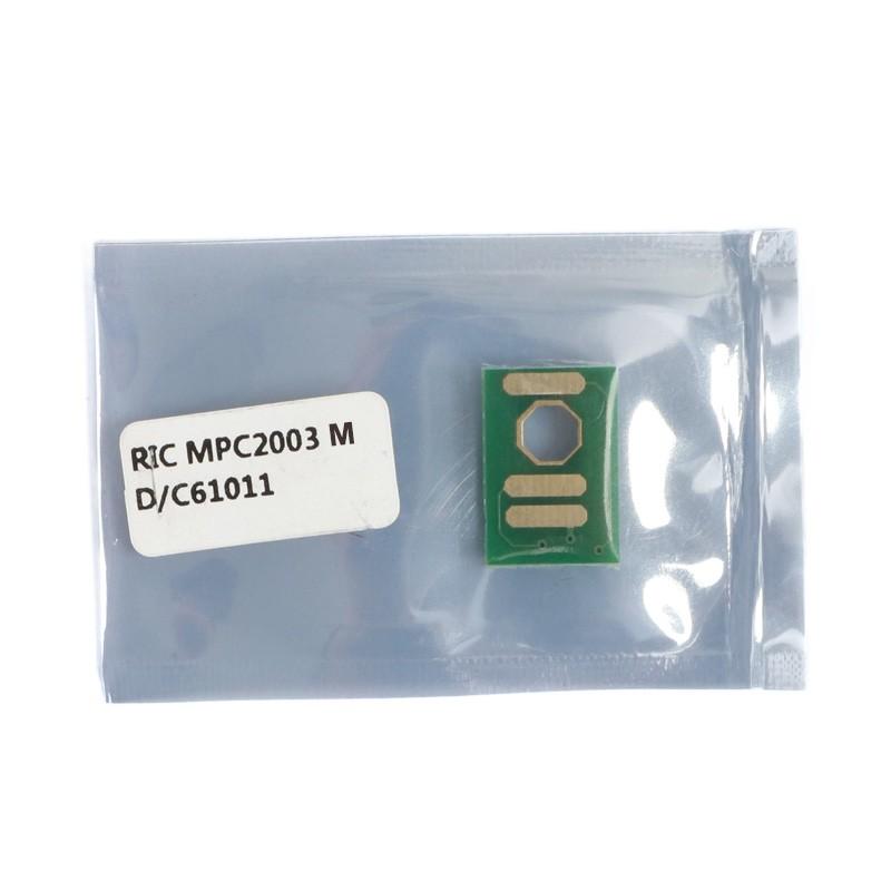 Chip Compatível Magenta p/ Ricoh MPC2003 2503 - 9.5K