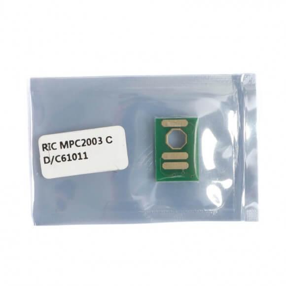 Chip Compatível Ciano p/ Ricoh MPC2003 MPC2503 - 9.5K