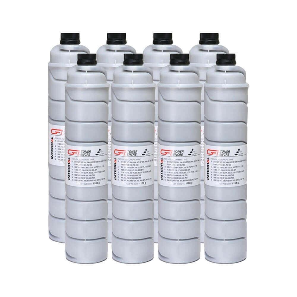 Toner Compatível Integral BK p/ Ricoh AF 1075 2060 2075 - 43k (Kit c/10)