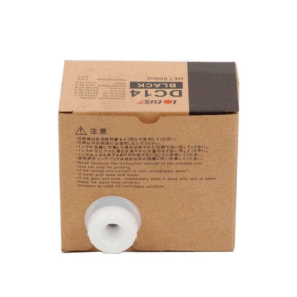 Kit c/ 4 Cart. Tinta DC14 p/ Dupli Dig Duplo DP C120 600ML