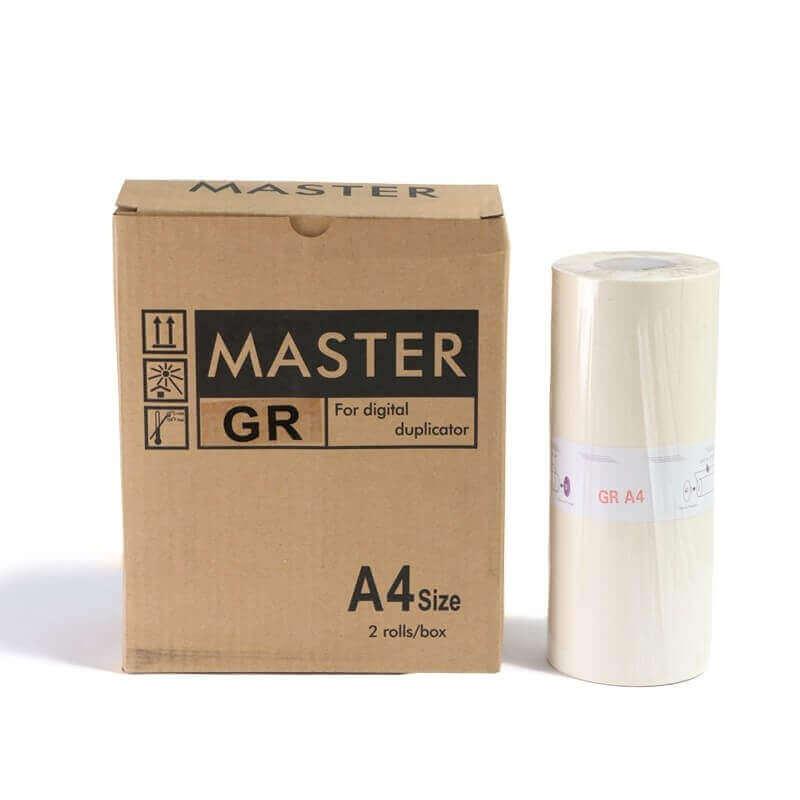 Master GR A4 p/ Duplicador Digital Riso (Kit c/ 2)