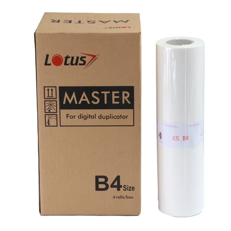 Master Lotus B4 para Duplicador Riso KS500 600 800 50mt Kit