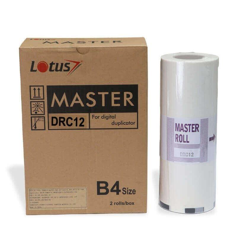 Master Térmico para Duplicador Duplo DRC 12 B4 Caixa com 02