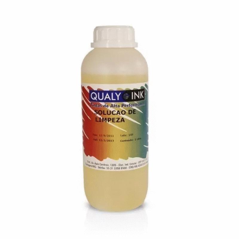 Solução de Limpeza para Cartucho de tinta Qualy Ink, Concentrado 1 LITRO