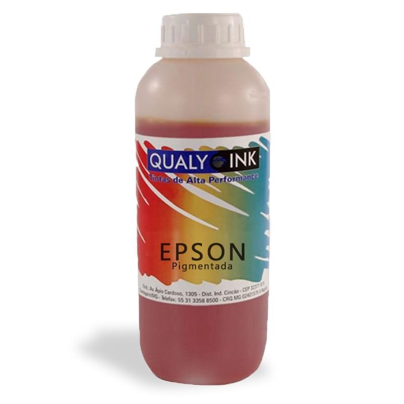 Tinta EPSON AMARELA Pigmentada 1 KG REFIL