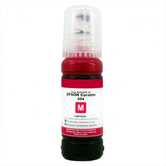 Tinta Lotus T504 Magenta 70 ml corante para Epson