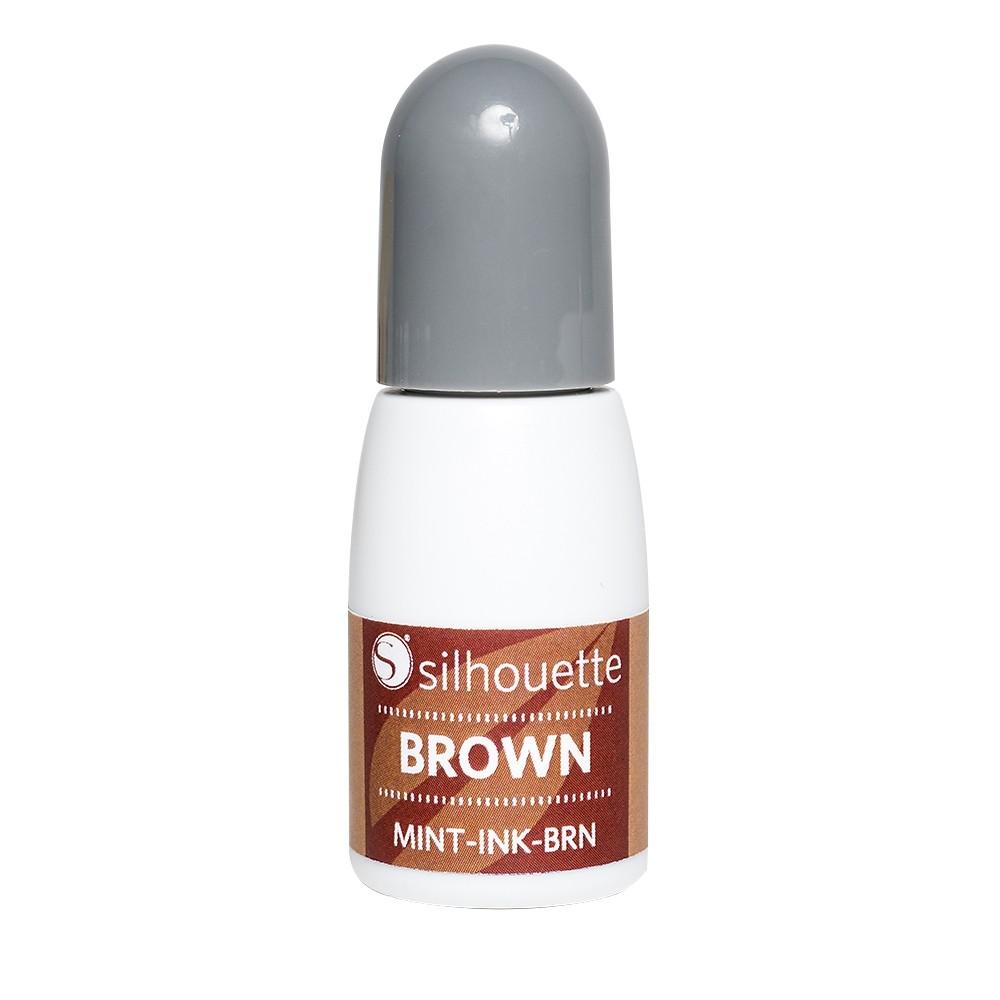 Tinta Marrom Para Silhouette Mint - 5ml