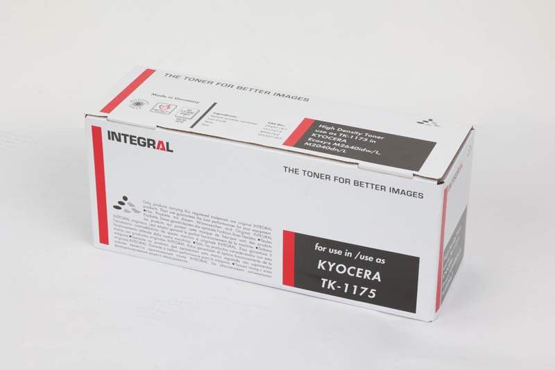 Toner Compatível Integral TK1175 p/ Kyocera c/chip - 12k