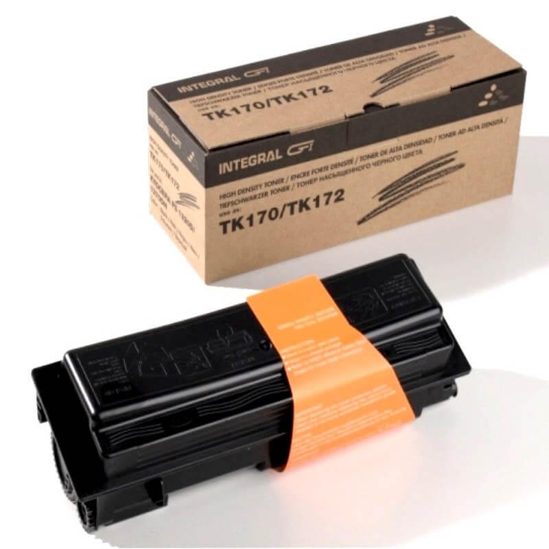 Toner Compatível  TK170 TK172 Preto p/ Kyocera Fs1320d 1370dn c/ Chip - Marca Integral