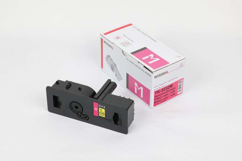Toner Compatível Integral TK5232 Magenta p/ Kyocera c/chip - 2.2k
