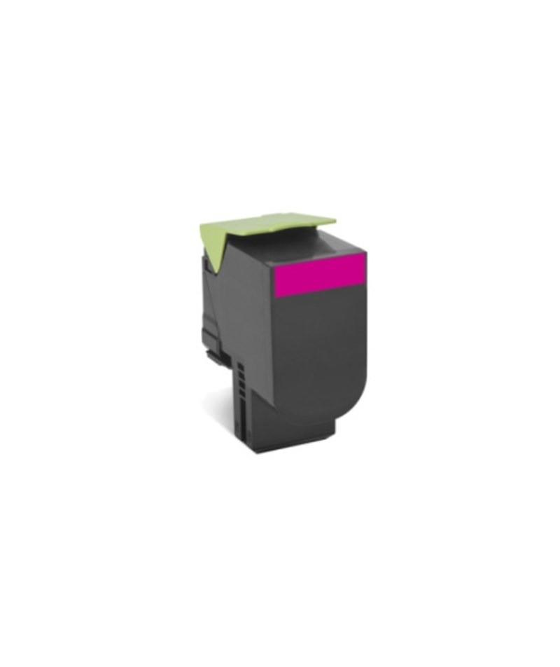 Toner Original 708XM 70C8XM0 Magenta p/ Lexmark CS510DE