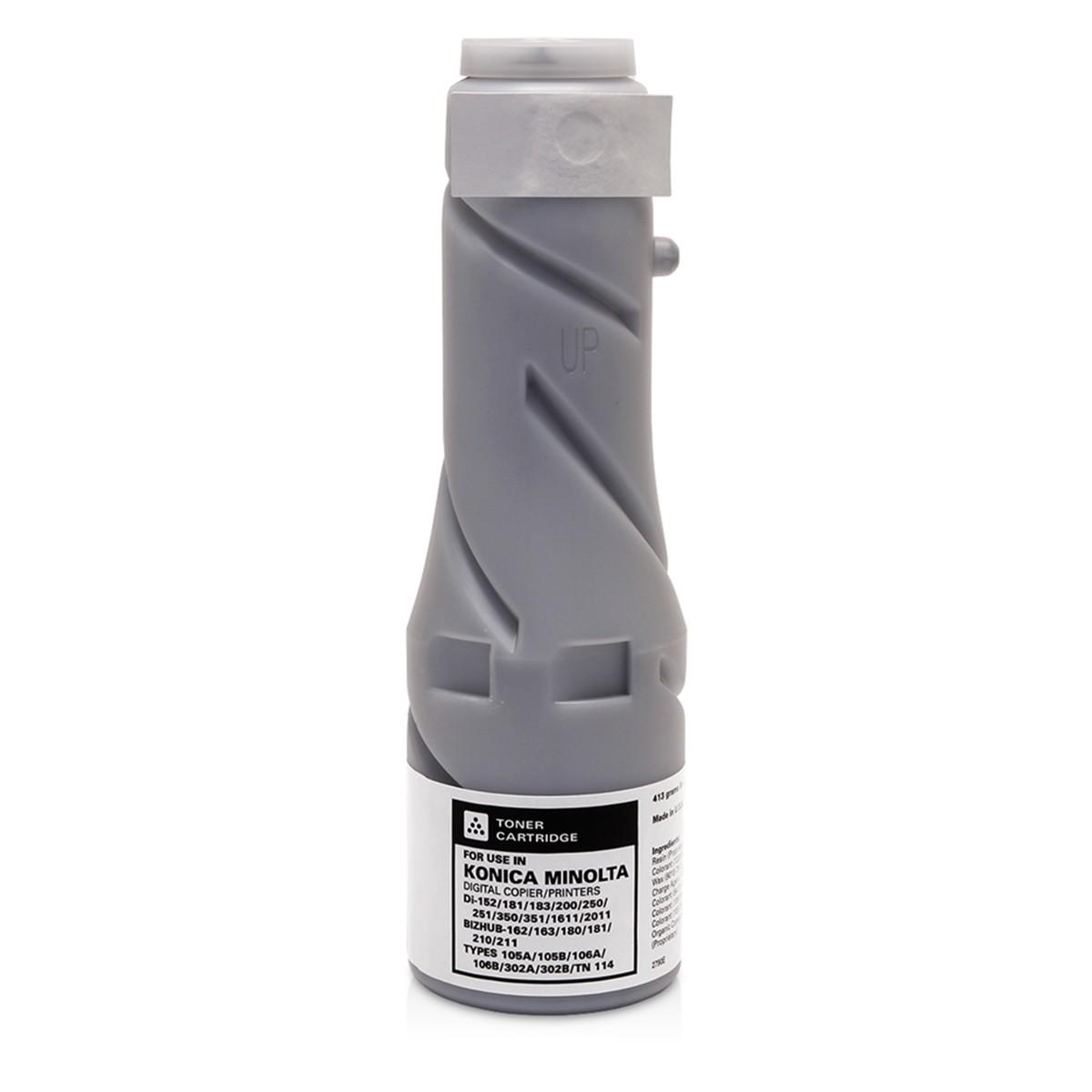 Toner Compatível p/ Minolta DI 152 181 183 200 250 (Kit c/2)