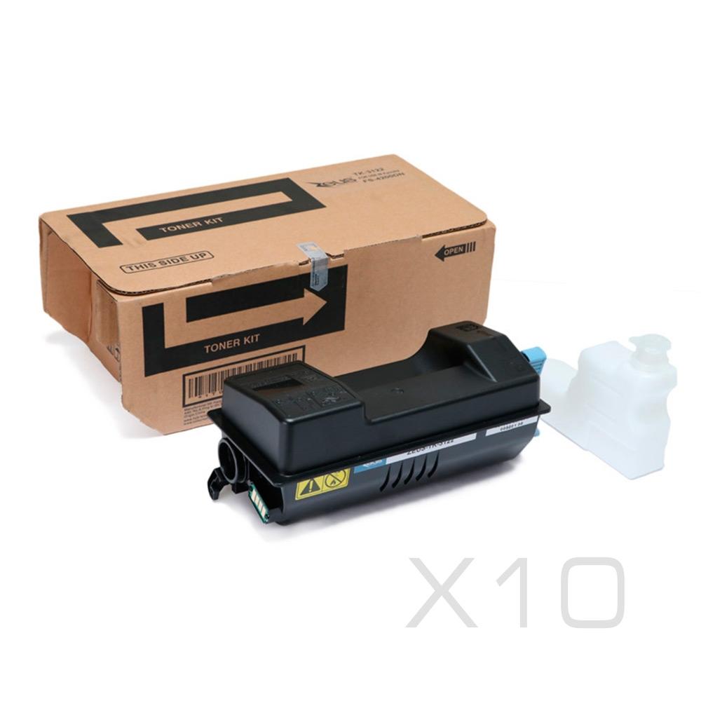 Toner Compatível Zeus TK3122 p/ Kyocera c/chip - 21k (Kit c/ 10)