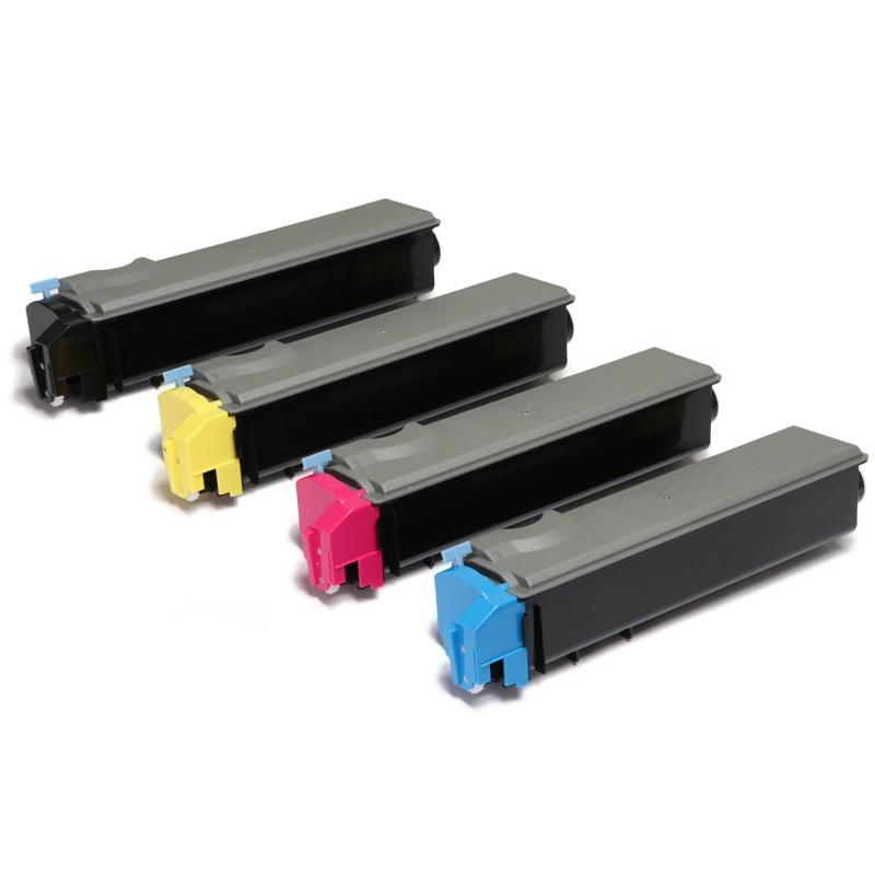 Toner Compatível Zeus TK512 p/ Kyocera (Kit c/ 4 cores)