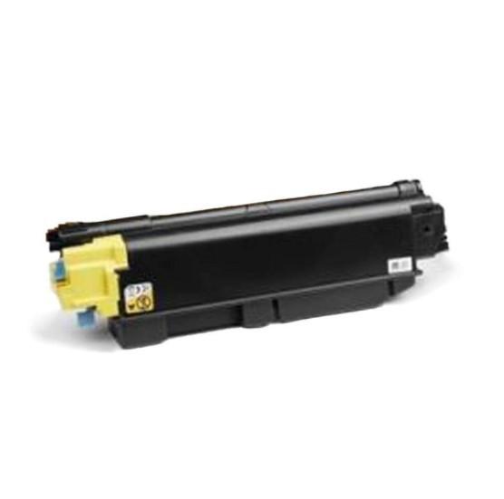 Toner Compatível Zeus TK5272 Yellow p/ Kyocera c/chip - 6k