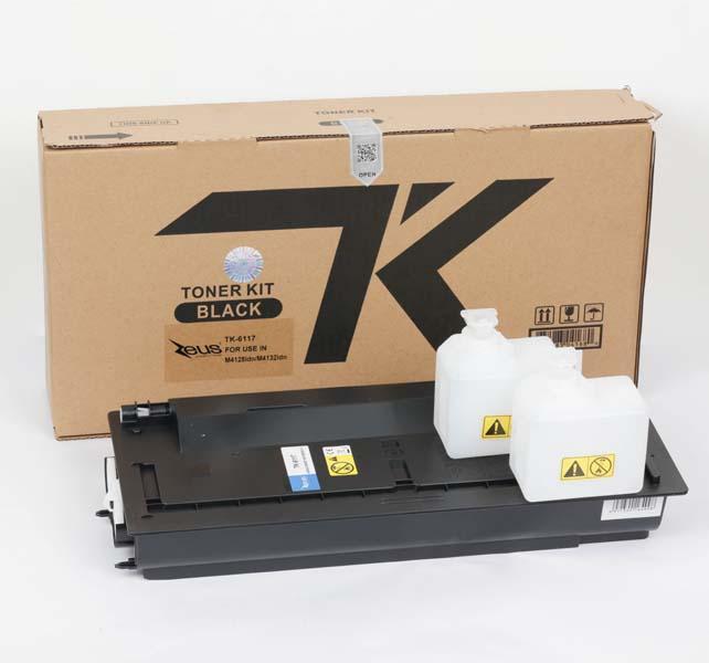 Toner Compatível Zeus TK6117 p/ Kyocera c/chip - 15k