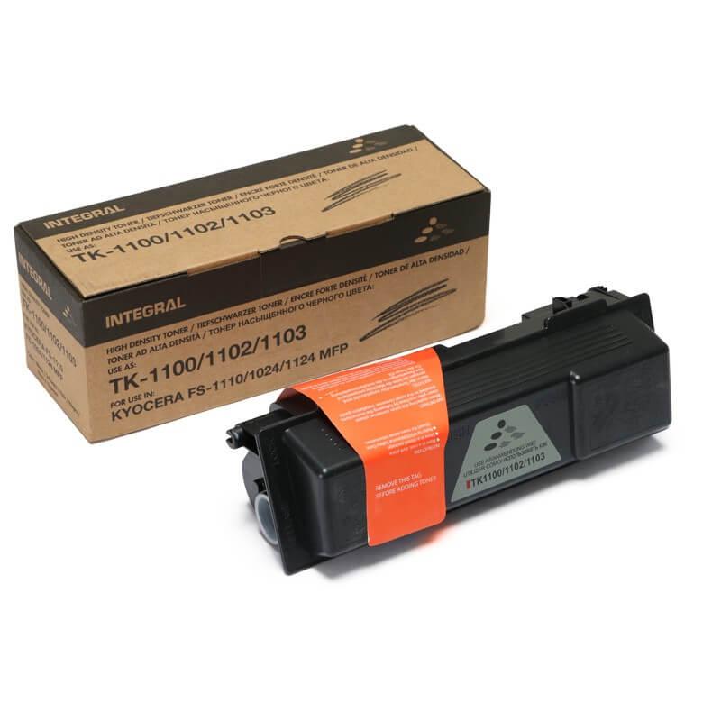 Toner Compatível Integral TK1102 p/ Kyocera c/chip - 7.8k
