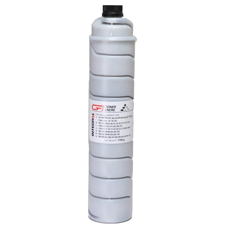 Toner Integral Preto Type 6210 para Ricoh Af 1060 2060 1075