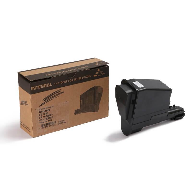 Toner TK1120 TK1122 Preto p/ Kyocera Fs1060 c/ Chip - Marca Integral
