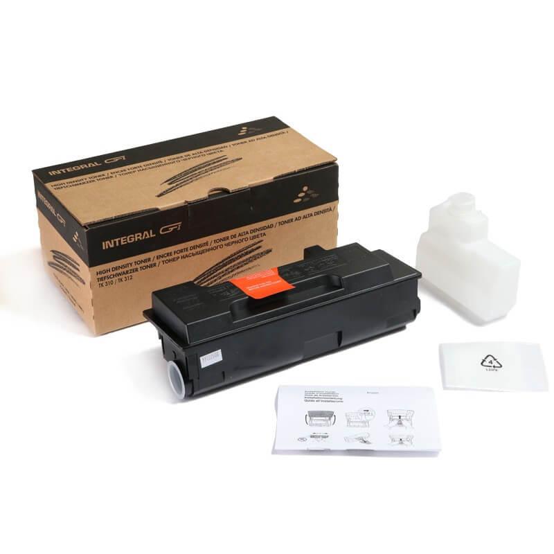 Toner Compatível Integral TK310 TK312 p/ Kyocera
