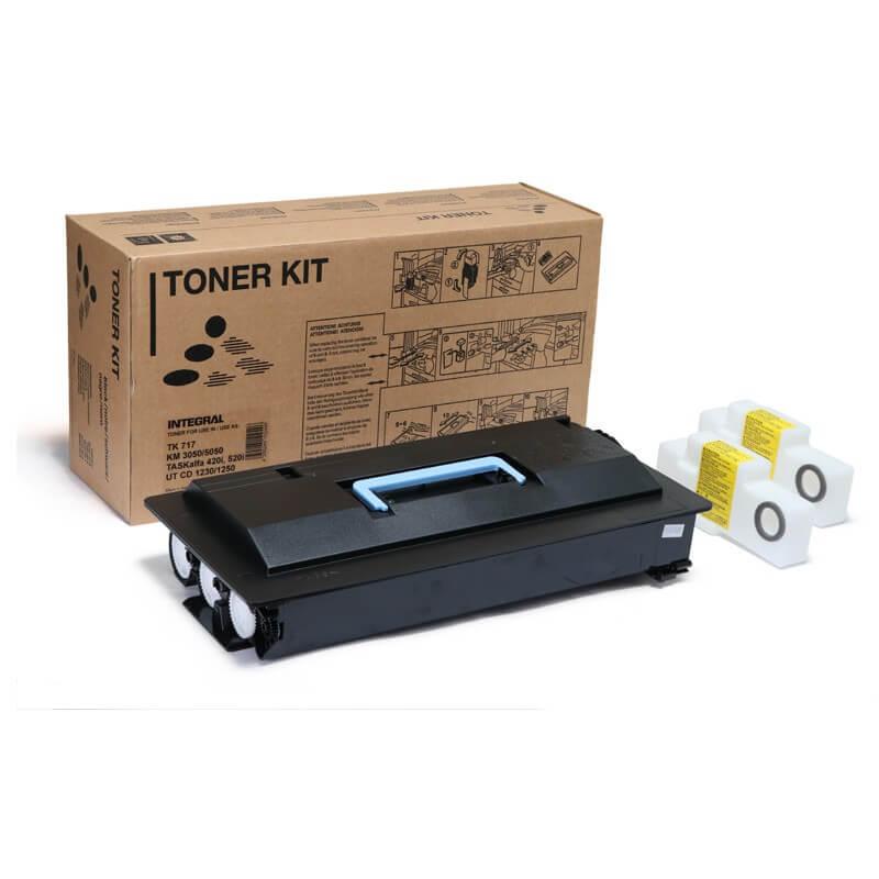 Toner TK717 para Kyocera KM3050 CS4050 com Chip - Marca Integral