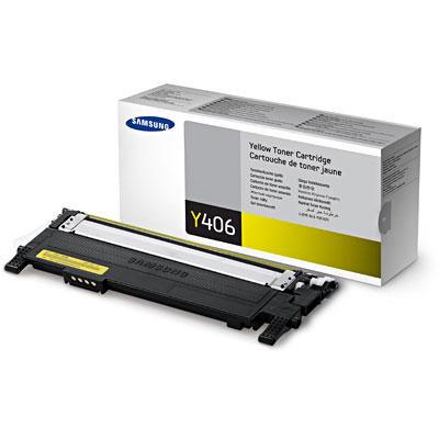 Toner Original CLT-Y406S Amarelo p/ Samsung CLP-360 C460W