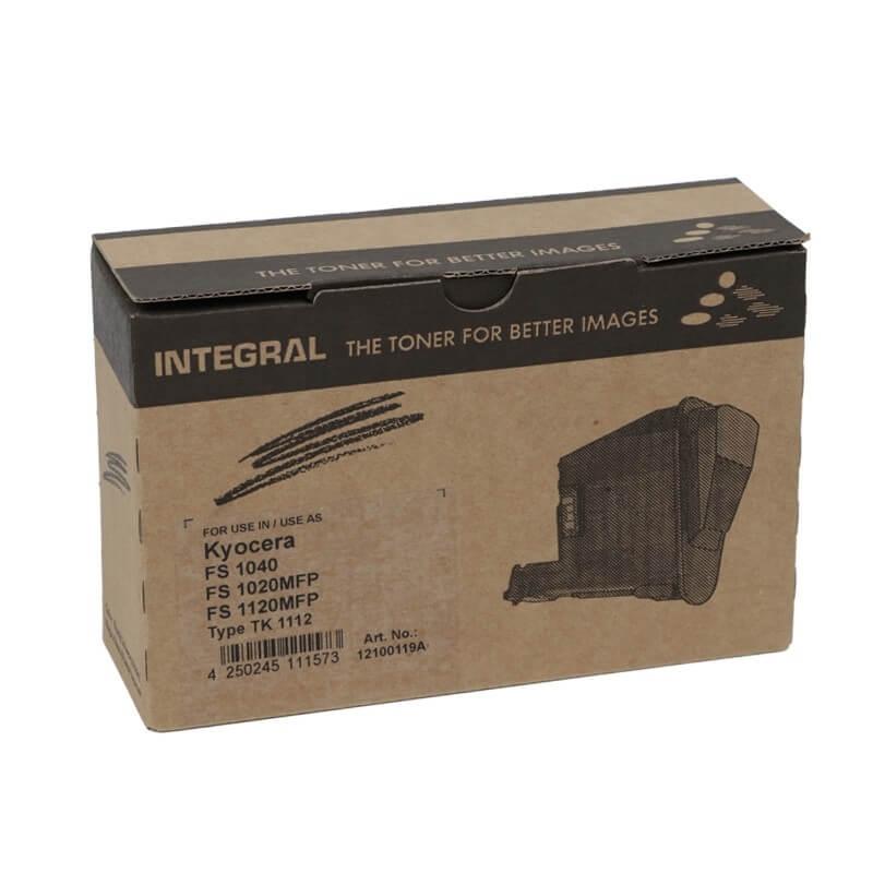Toner Compatível Integral TK1112 p/ Kyocera c/ chip - 2.5k