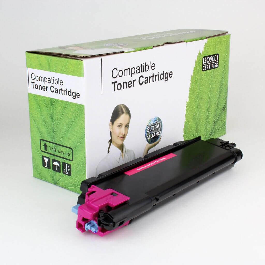 Toner Compatível Zeus TK5282 Magenta p/ Kyocera c/chip - 11K
