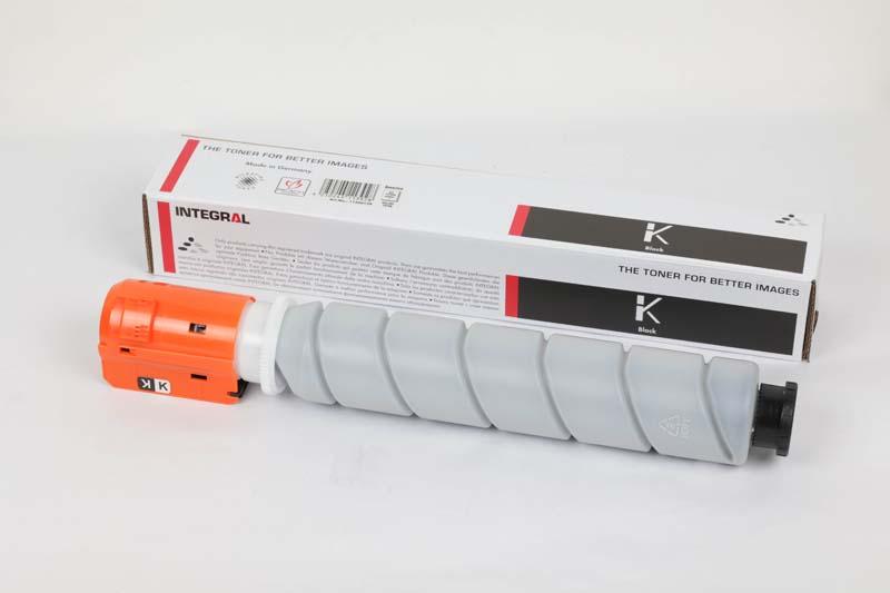 Toner Compatível Integral GPR-52 Black p/ Canon C1325 - 16.5k