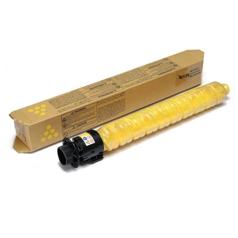 Toner Compatível Zeus Amarelo p/ Ricoh MPC 2003 2503 - 9.5K