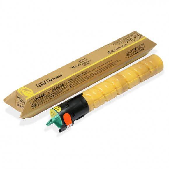 Toner Compatível Zeus Yellow p/ Ricoh MPC2551 c/chip - 9.5k