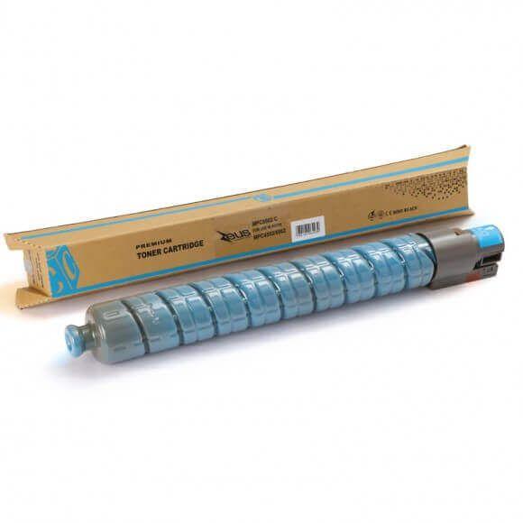Toner Zeus Ciano para Ricoh MPC4502 5502 com Chip