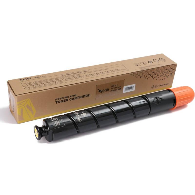 Toner Compatível Zeus GPR-31 Amarelo p/ Canon IR ADV C5030