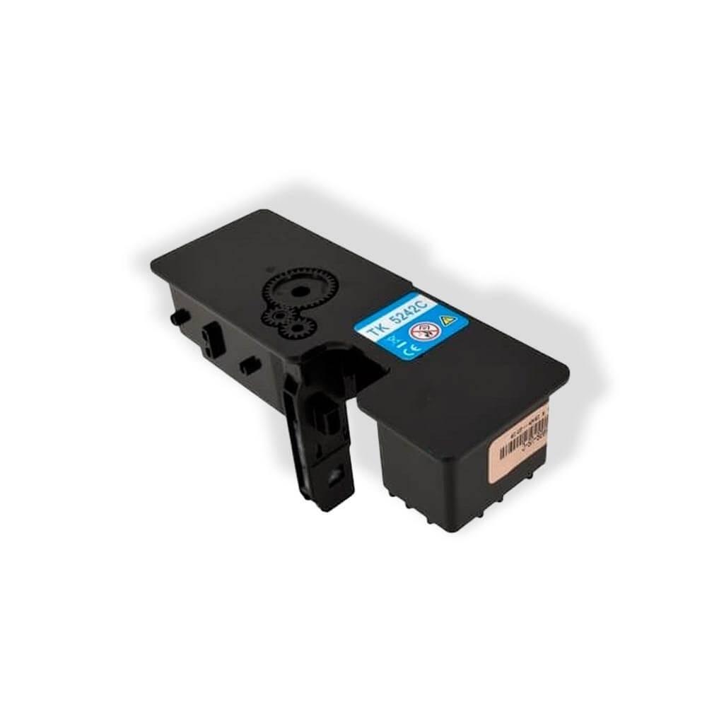 Toner Compatível Zeus TK5232 Cyan p/ Kyocera c/chip - 2.2k