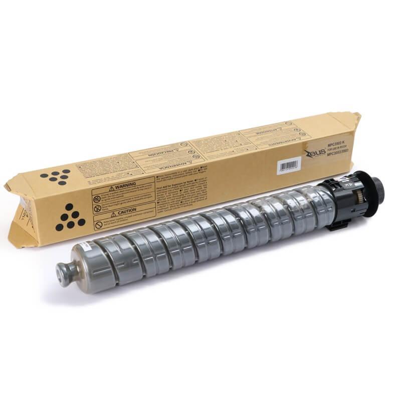 Toner Compatível Zeus BK p/ Ricoh C3503 C3504 c/chip - 29.5k