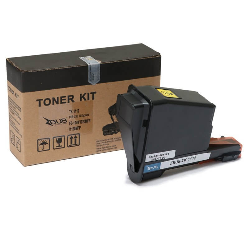 Toner  TK1112 p/ Kyocera Fs1040/1020/1120 - Marca Zeus
