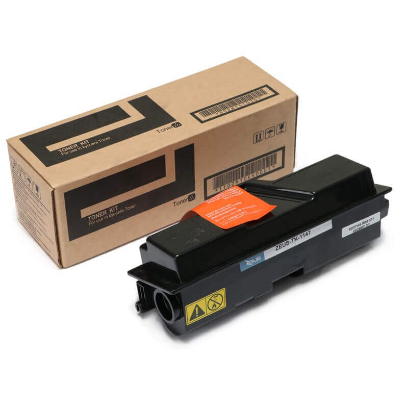 Toner Compatível Zeus TK1147 p/ Kyocera Fs1135 c/chip - 12k