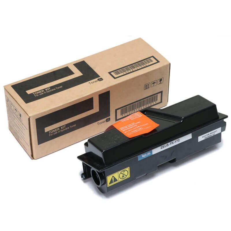 Toner Compatível Zeus TK172 p/ Kyocera c/chip - 7.2K