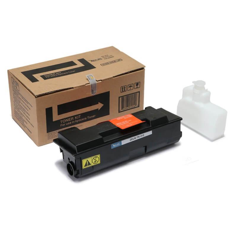 Toner Compatível Zeus TK312 p/ Kyocera c/chip - 12k