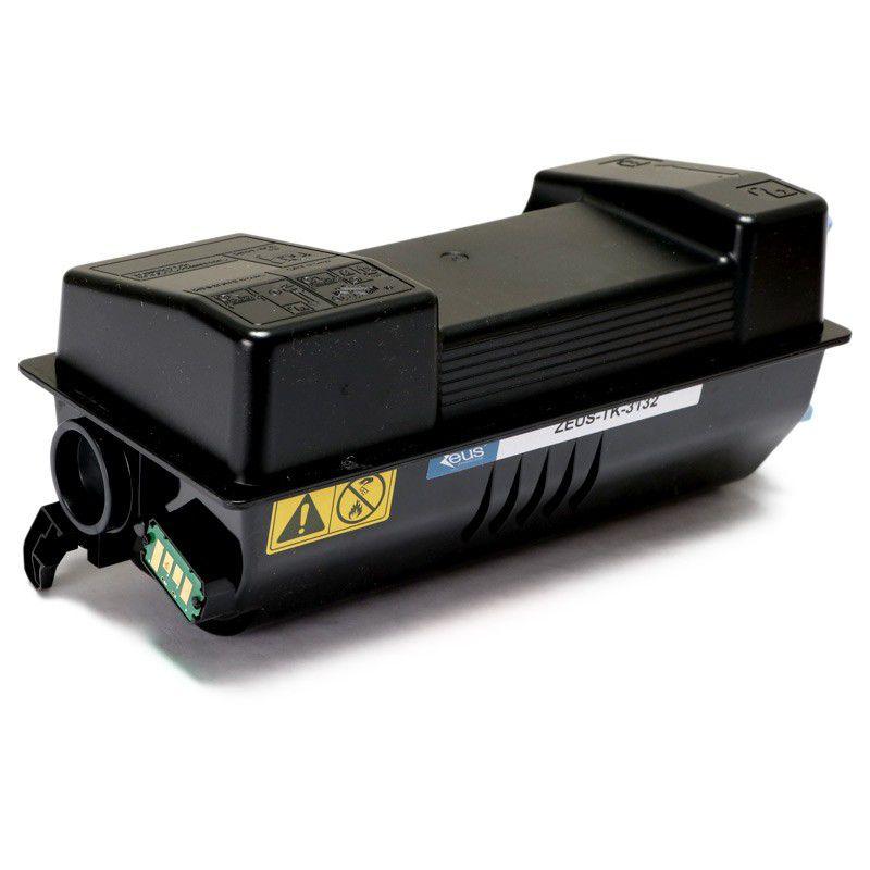 Toner TK3132 Preto p/ Kyocera Fs-4300dn M3560 c/ Chip - Marca Zeus