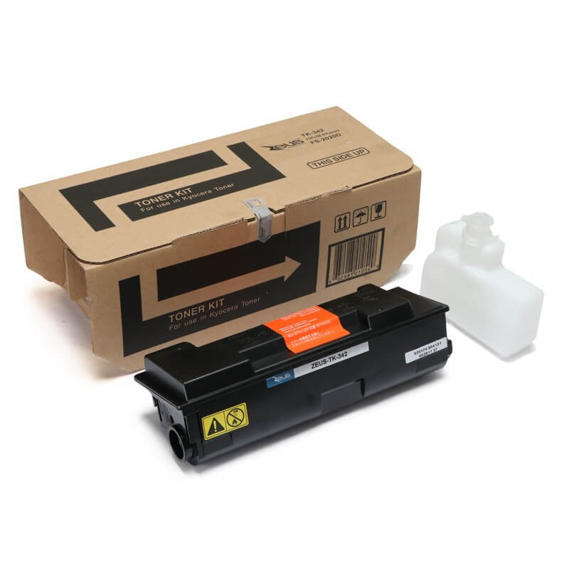 Toner Compatível Zeus TK342 p/ Kyocera c/chip - 12k