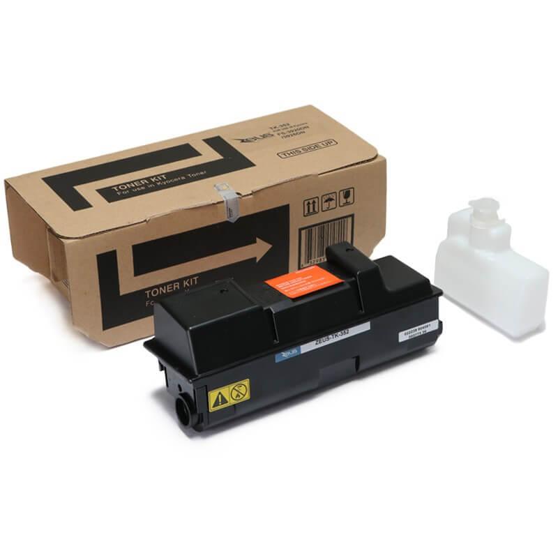 Toner Compatível Zeus TK352 Preto p/ Kyocera c/chip - 17K
