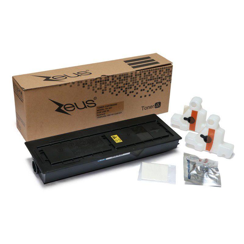 Toner Compatível Zeus TK437 p/ Kyocera c/chip - 23k