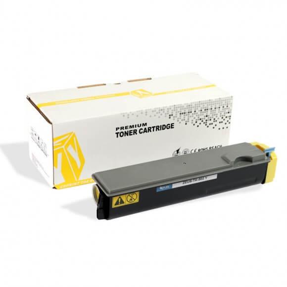 Toner Compatível Zeus TK502 Amarelo p/ Kyocera