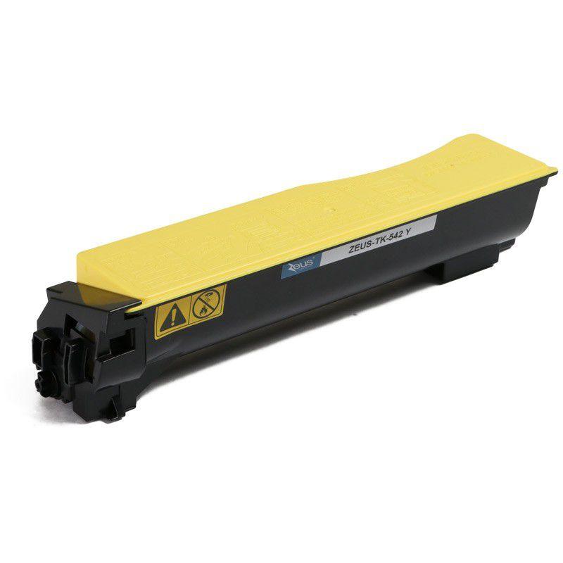 Toner TK542 Amarelo p/ Kyocera FS-C5100DN - Marca Zeus
