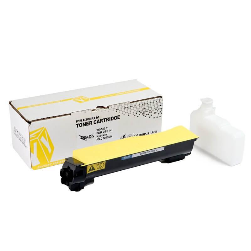 Toner  TK552 Amarelo p/ Kyocera FSC5200DN - Marca Zeus