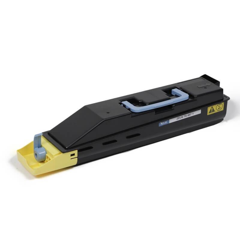 Toner Compatível Zeus TK857 Yellow p/ Kyocera - 25K