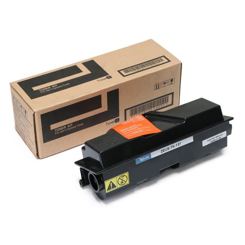 Toner Compatível Zeus TK130 TK132 p/ Kyocera c/ chip - 7.5K